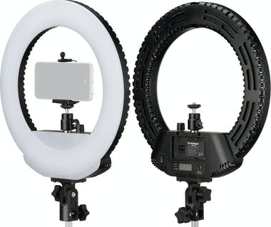 Bresser RING LIGHT ANILLO LUZ LED 30,5 cm REGULABLE PARA C