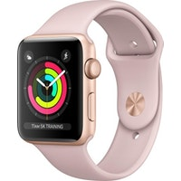 Apple Watch Series 3 GPS Gold 42mm Pink Sand Sport Band