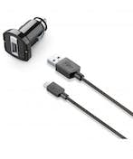 Cellularline USB car charger kit 1A - Micro USB