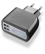 Cellularline USB charger dual ultra - fast charge universal