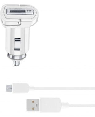 Cellularline USB car charger kit 2A - micro USB