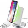 Cellularline Wireless fast charger stand iPhone X/8 Plus/8