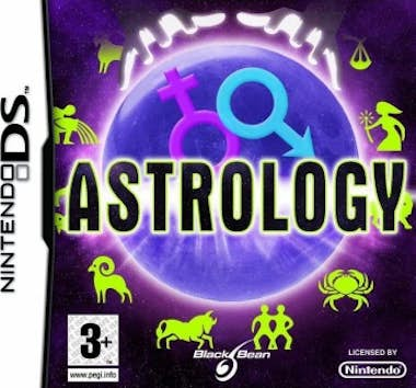 Generica Black Bean Astrology, NDS vídeo juego Nintendo 3DS