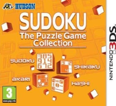 Generica Hudson Sudoku: The Puzzle Game Collection, 3DS víd