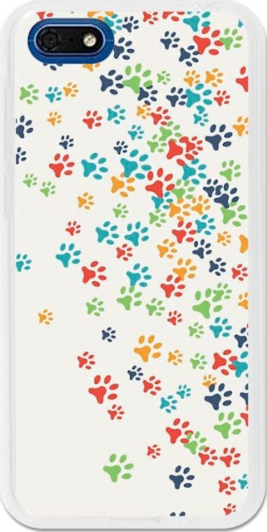 German Tech German Tech Funda Gel Huawei Y5 2018 Huellas color