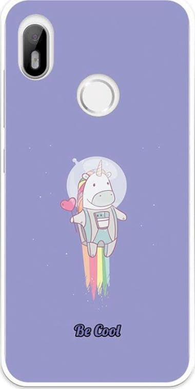 BeCool BeCool Funda Gel Bq Aquaris C Unicornio Espacial V