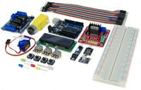 eBOTICS Build & Code Plus Kit electrónica