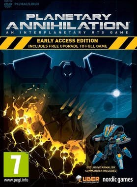 Bandland Games Planetary Annihilation (Early Access Edition) Pc