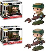 FUNKO Figura POP Star Wars Leia Luke on Speeder Bike Del