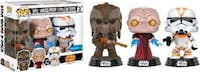 FUNKO Set 3 figuras POP! Star Wars Tarfful Unhooded Empe