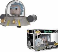 FUNKO Figura POP Rick & Morty Space Cruiser Exclusiv