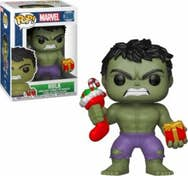 FUNKO Figura POP Marvel Holiday Hulk with Stocking &