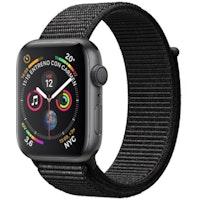 Apple Watch Series 4 GPS + Cellular 40 mm aluminio gris espacial correa Loop deportiva negro
