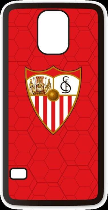 b4fa2719246 Comprar Funda móvil Samsung Galaxy S5 Sevilla FC Escudo 3D al mejor ...