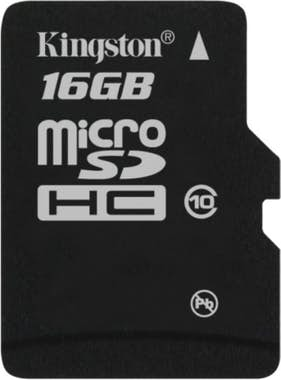 Kingston Technology Memory flash microSDHC - 16 GB Negro