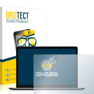 brotect Protector Pantalla Compatible con Apple MacBook Pro 15 2019 Protector Transparente Anti-Huellas
