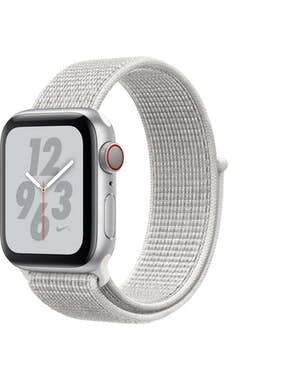 Apple Apple Watch Nike+ Series 4 reloj inteligente Plata