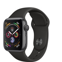 Apple Watch Series 4 GPS 40 mm aluminio en gris espacial y correa deportiva negra