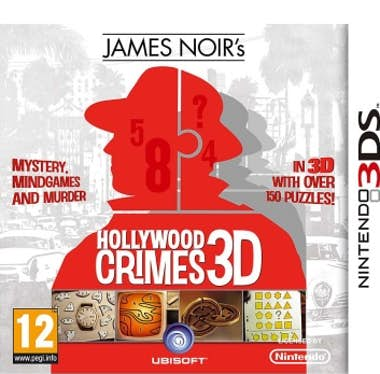 3DS James Noir Hollywood Crimes