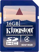 Kingston SDHC 16 GB Clase 4