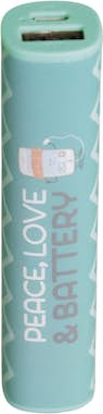 Mr. Wonderful Bateria externa peace & love 2600 mAh