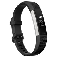 Fitbit Alta HR Wristband activity tracker Negro, Acero inoxidable OLED