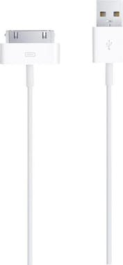 Apple Apple 30-pin - USB2.0 USB A Apple 30-p Blanco cabl