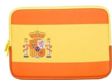 "Urban Factory Urban Factory Neopren Flag Sleeve Spain 12.1"""" Fun"