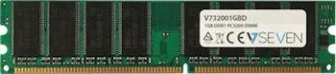 V7 V7 1GB DDR1 PC3200 - 400Mhz DIMM Desktop módulo de