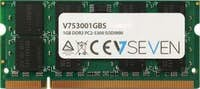 V7 V7 1GB DDR2 PC2-5300 667Mhz SO DIMM Notebook módul