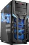 Sharkoon Sharkoon DG7000-G Midi-Tower Negro carcasa de orde