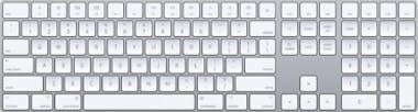 Apple Apple MQ052LB/A Bluetooth QWERTY Inglés de EE. UU.