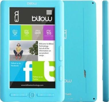 "Billow Billow E2TLB 7"""" 4GB Azul lectore de e-book"