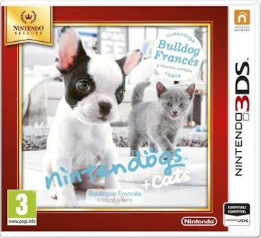 Nintendo Nintendo Nintendogs + Gatos: Bulldog, 3DS vídeo ju