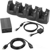 Zebra Zebra 4-Slot Ethernet Charge Cradle Kit Cargador d