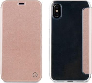 Muvit muvit funda Folio Apple iPhone X oro rosa