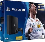 Sony Sony PlayStation 4 Pro 1TB + FIFA 18 1000GB Wifi N