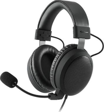 Sharkoon Sharkoon B1 Binaural Diadema Negro auricular con m