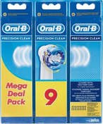 Oral-B Oral-B Precision Clean 9pieza(s) Multicolor