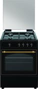 VitroKitchen Vitrokitchen RU6060B Independiente Encimera de gas