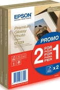 Epson Epson Premium Glossy Photo Paper - (2 for 1), 100