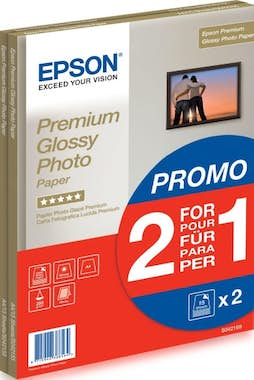 Epson Epson Premium Glossy Photo Paper - 2 for 1), DIN A