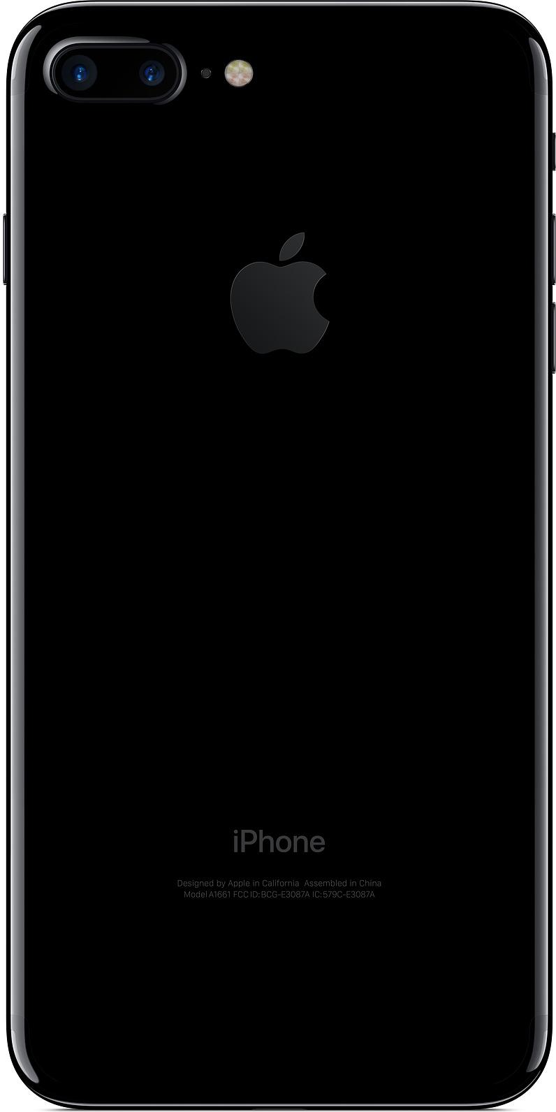 apple iphone 7 plus 128gb jet black купить