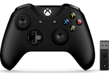 Microsoft Mando y adaptador inalámbrico de Xbox para Windows