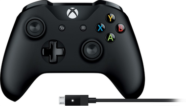 Microsoft Mando inalámbrico Xbox + cable para Windows