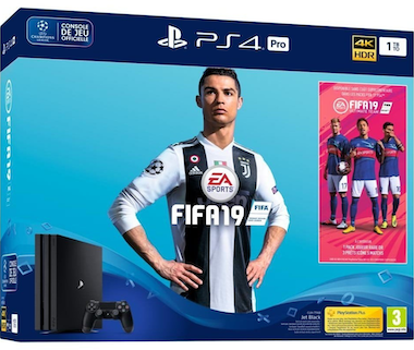 Sony PS4 Pro 1TB + FIFA 19 + PS Plus 14 días