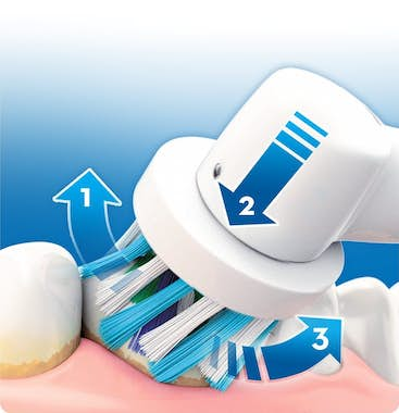 Oral-B Oral-B CrossAction 10 pieza(s) Blanco