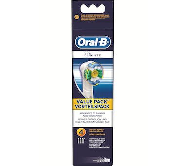 Oral-B Oral-B 3D White 4 pieza(s) Multicolor