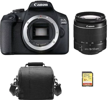 Canon EOS 2000D KIT EF-S 18-55mm F3.5-5.6 II