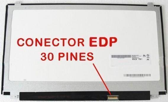 Portatilmovil B156HTN03.7 30 Pin EDP Pantalla 15.6 HD LED Slim LTN156AT37